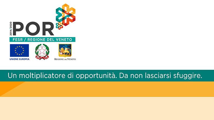 """Intervento realizzato avvalendosi del finanziamento POR - Obiettivo """"Investimenti a favore della crescita e dell'occupazione"""" Parte FESR fondo europeo di sviluppo regionale 2014-2020"""