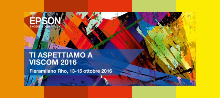 EPSON a Viscom Italia 2016