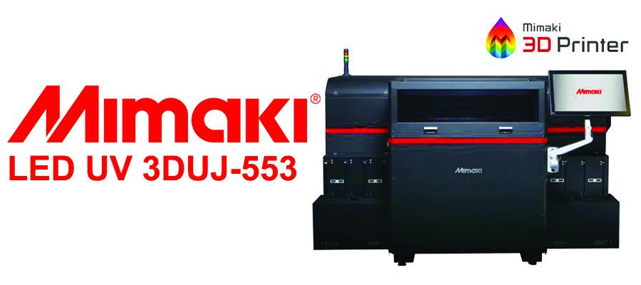 Mimaki LED UV 3DUJ-553